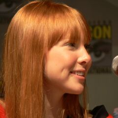 Molly Quinn at Comic Con
