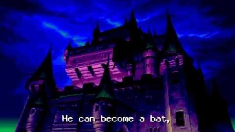 Castlevania: Rondo of Blood/Script