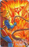 Simon's Quest Card Flame Man