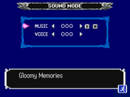 Dawn of Sorrow Sound Mode