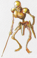 Super Castlevania IV - Skeleton Soldier - 01