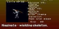 Skeleton Spear