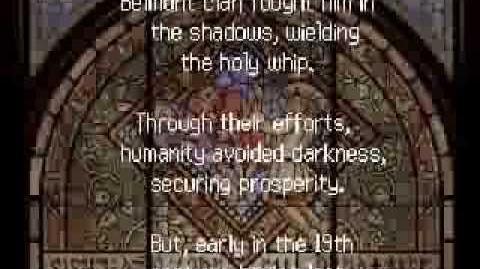 Castlevania: Order of Ecclesia/Script