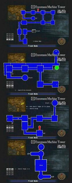 Eneomaos Machine Tower Map