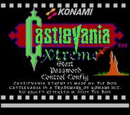 Castlevania Xtreme Title