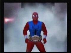 Scarlet Spider as CCW champion