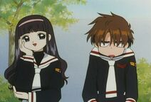 Tomoyo and Syaoran