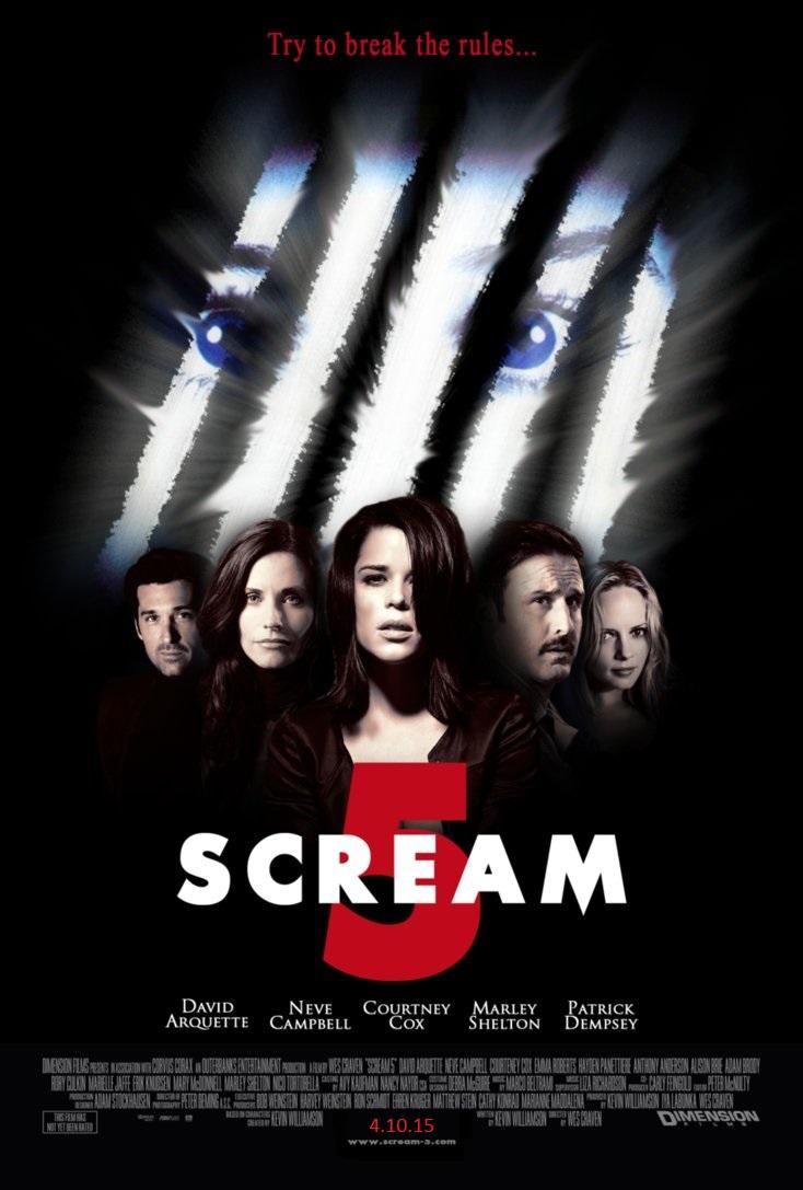 Scream 5 Ceauntay Gorden S Junkplace Wiki Fandom
