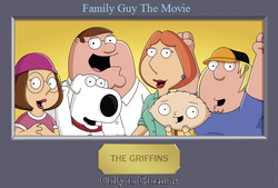 Family Guy movie UK poster