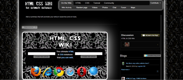 File:HTMLCSSWiki Review Homepage.png