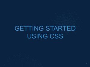 Intro to CSS Slide08