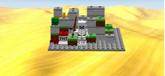 File:LEGO Minecraft The Cave 2 Minifigures Skeleton, Zombie head.png