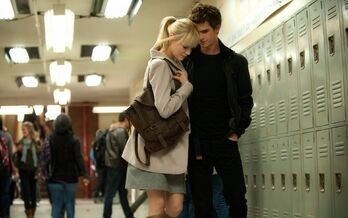Peter and Gwen at School