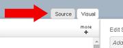 Source Visual tabs