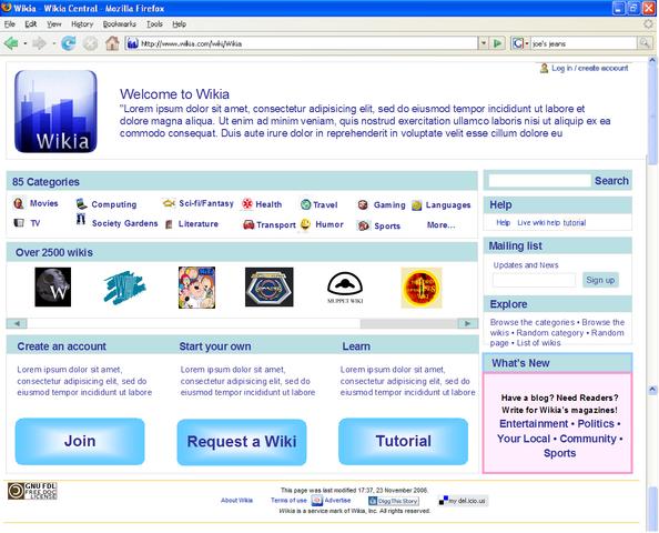 File:FrontPage Mockup 2.PNG