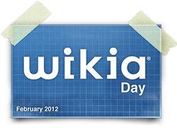 Wikia Day Logo