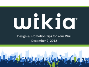 Design & Promotion Tips Slide01