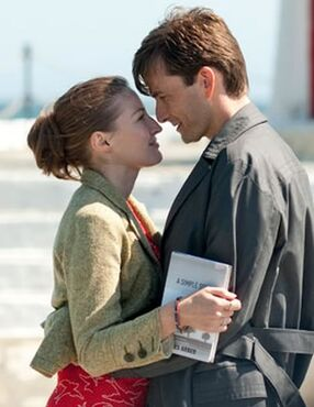 Katie and James