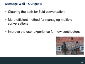 Message Wall & Wiki Nav Slide15