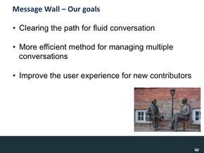 Message Wall & Wiki Nav Slide15