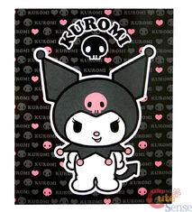 Sanrio-Hello-Kitty-Kuromi-Blanket-Skull-Throw-1
