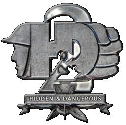 File:Hidden & Dangerous 2 logo.png