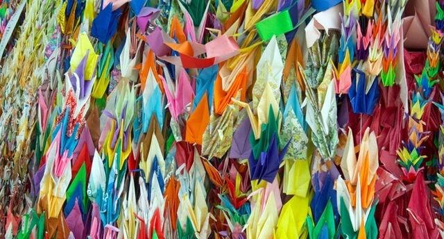 File:Paper cranes at hiroshima.jpeg