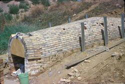 Anagama Being Built.jpg