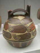 Nazca maize vessel