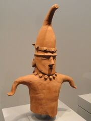 Head and Torso of a Dancing Figure, 5th-7th century AD, Japan, earthenware - Art Institute of Chicago - DSC00105.JPG