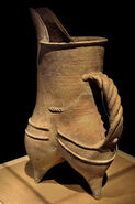 CMOC Treasures of Ancient China exhibit - white pottery gui (1)