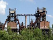 Landschaftspark Duisburg-Nord - Hochoefen 1 und 2 vom Sinterplatz