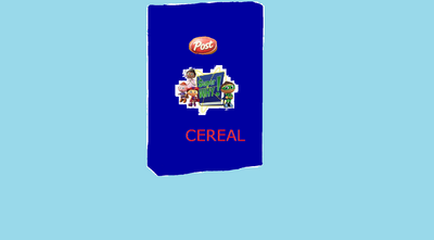 New Cereal Box