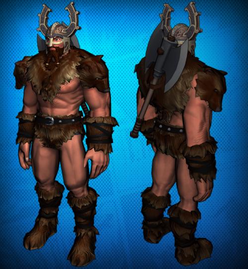 Warrior Film Online: Viking Warrior Costume Set Detail 1.png