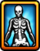 Costume Icon Halloween Skeleton