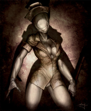silent hill characters naked