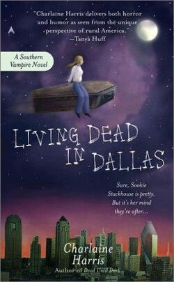 Living Dead in Dallas (Southern Vampire Mysteries, No. 2)-ExLibrary