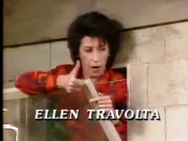 ellen travolta happy days