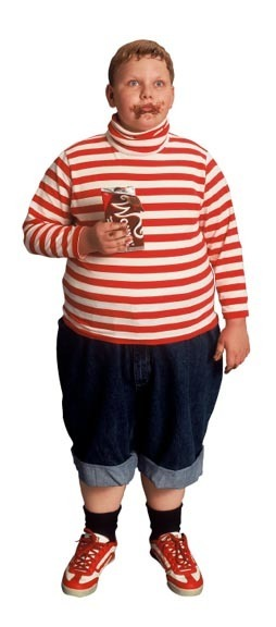 willy wonka and the chocolate factory meet augustus gloop 2005