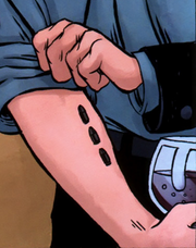 Christopher's tattoo