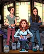Comic Charmed Ones