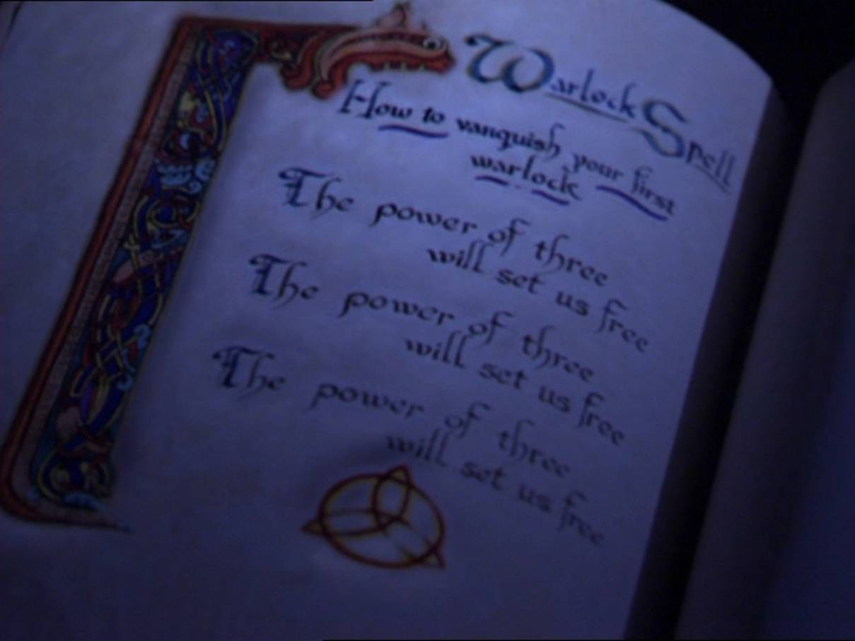The Power Of Three Spell Charmed Fandom Powered By Wikia