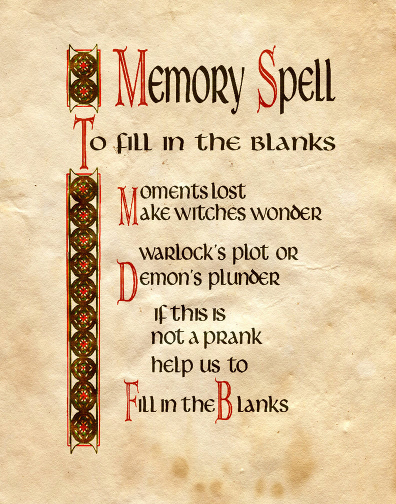 It is a photo of Refreshing Printable Spell Book Pages
