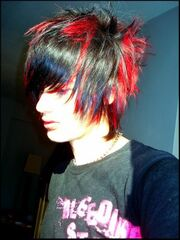 Red-black-emo-guy-hair-style