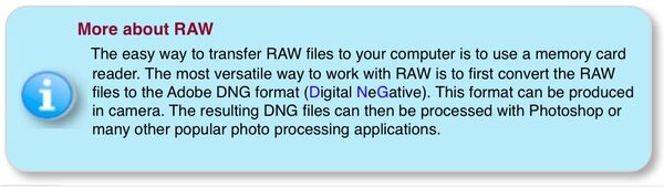 Info -RAW