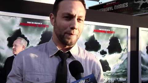 Jonathan Sadowski Talks 'Chernobyl Diaries' At Premiere