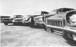 R&T 5 economy cars, 1971