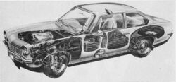 Vega cutaway