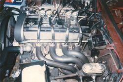 1976 Cosworth Vega engine