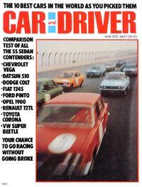 Car and Driver - May 1972